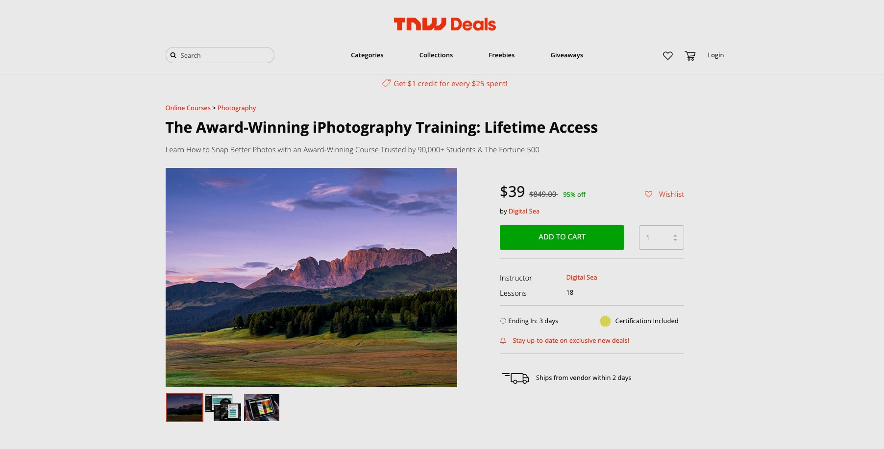 tnw deal on photo learning