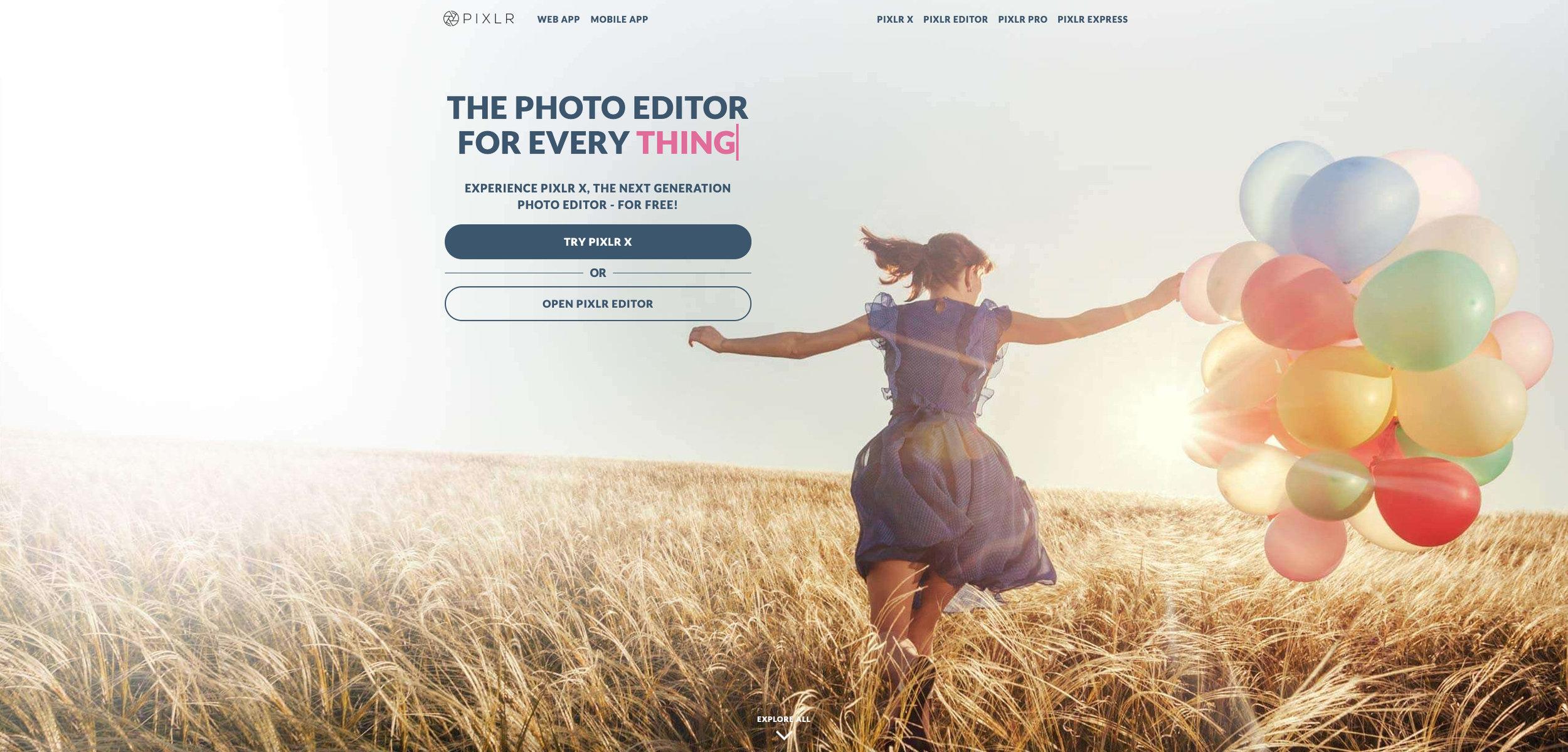 online pixlr editor