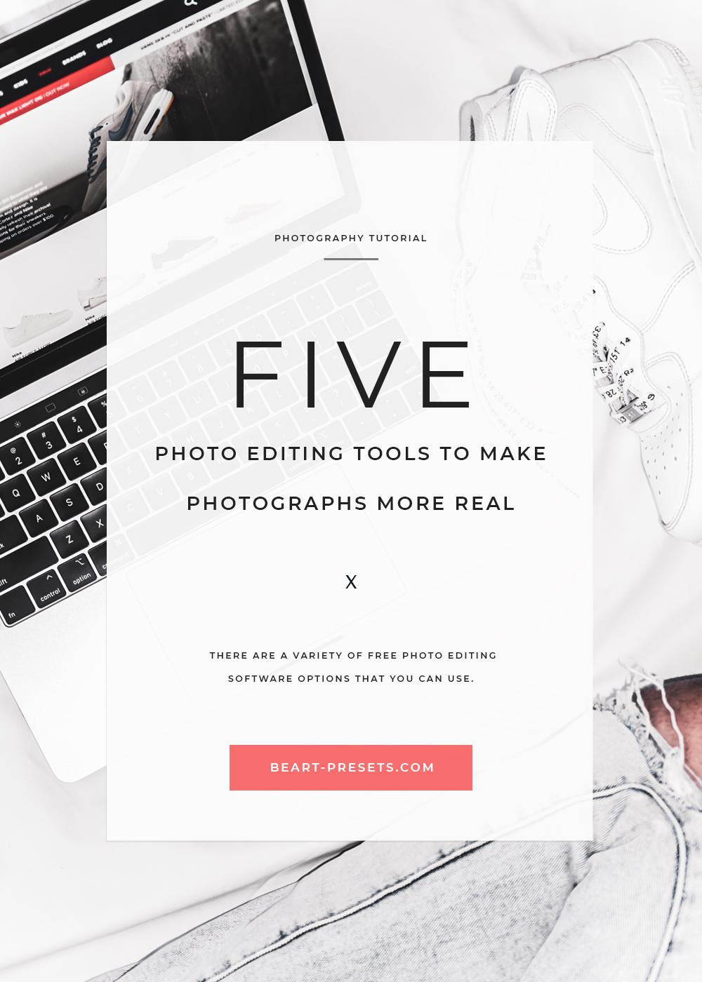 photo editing tools