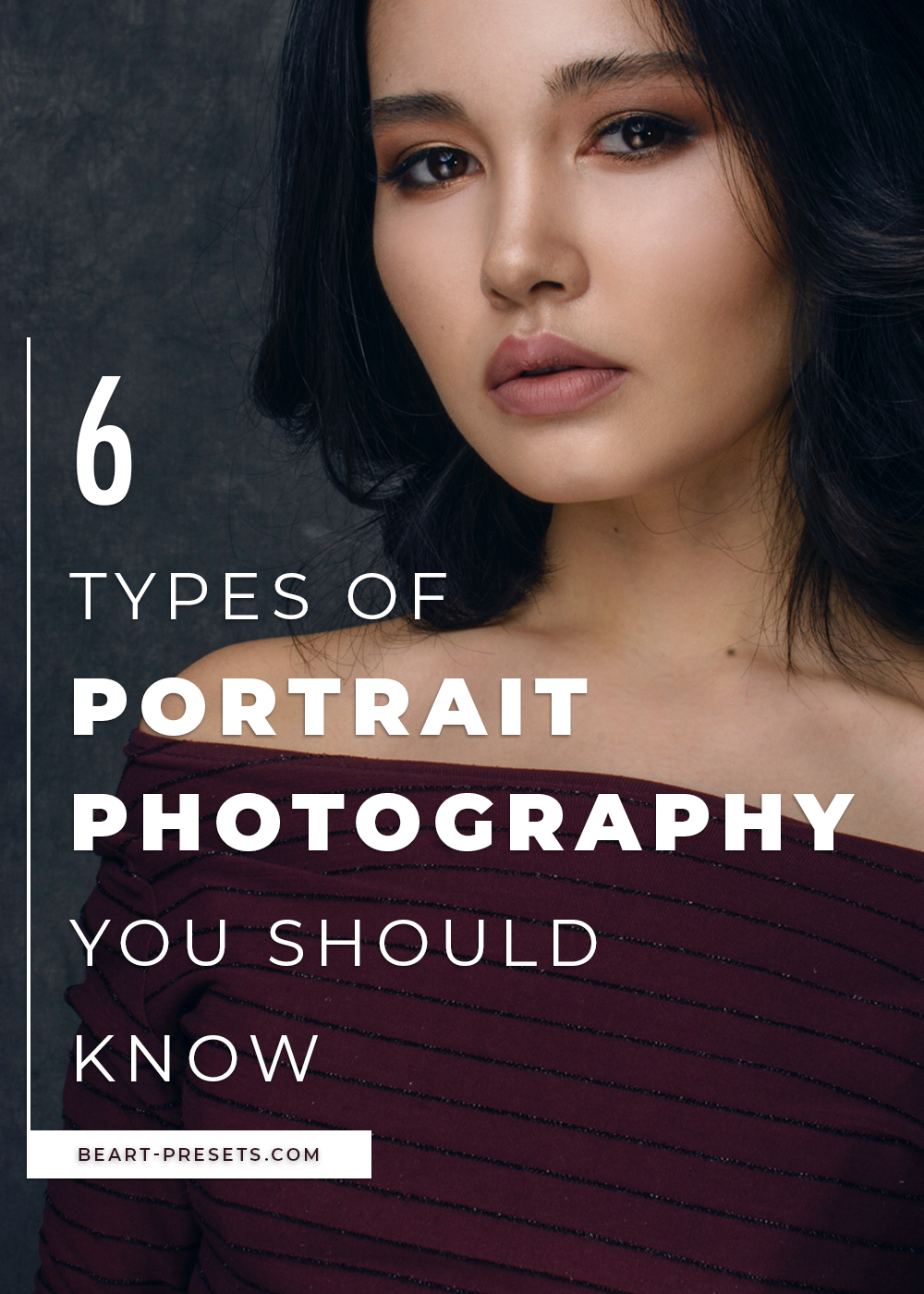 6 types of portrait photography