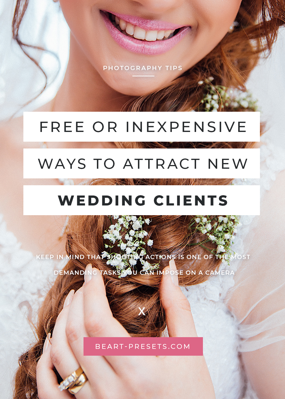 new wedding clients