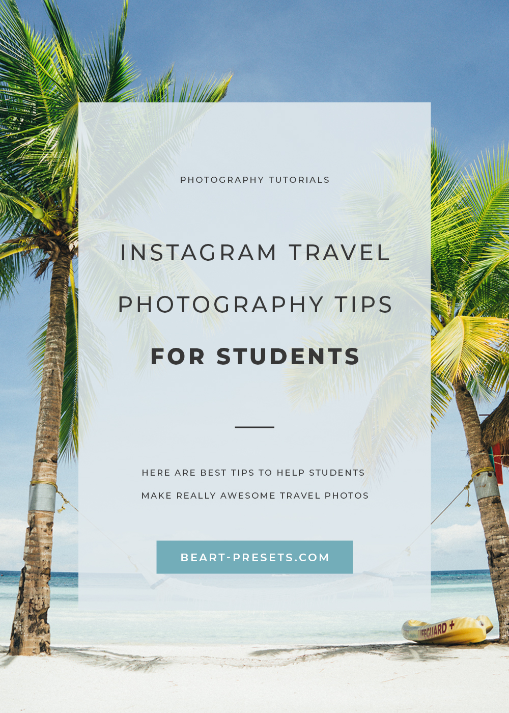 Instagram Travel Photography Tips for Students