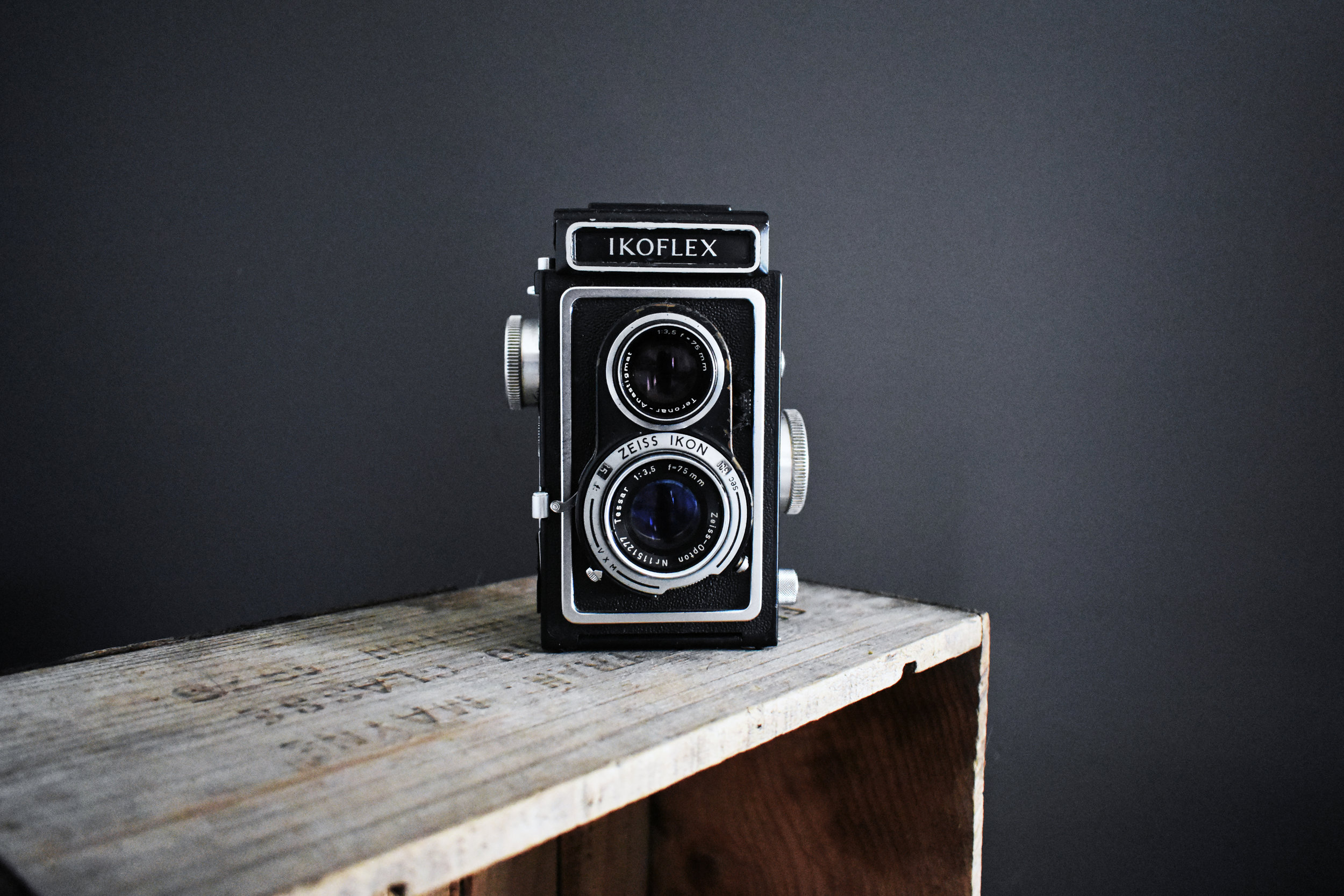 old camera for photographer