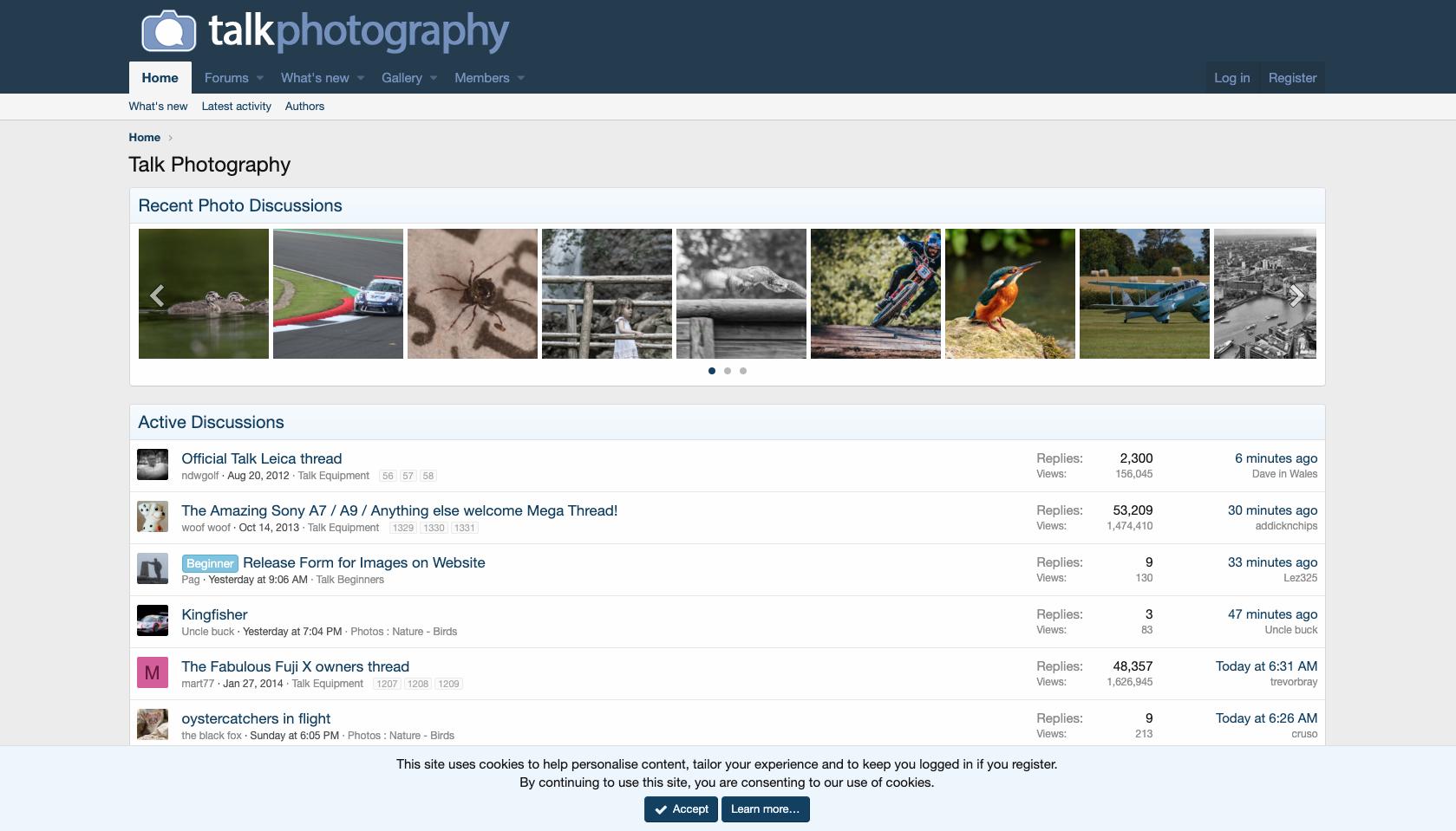 talk photography