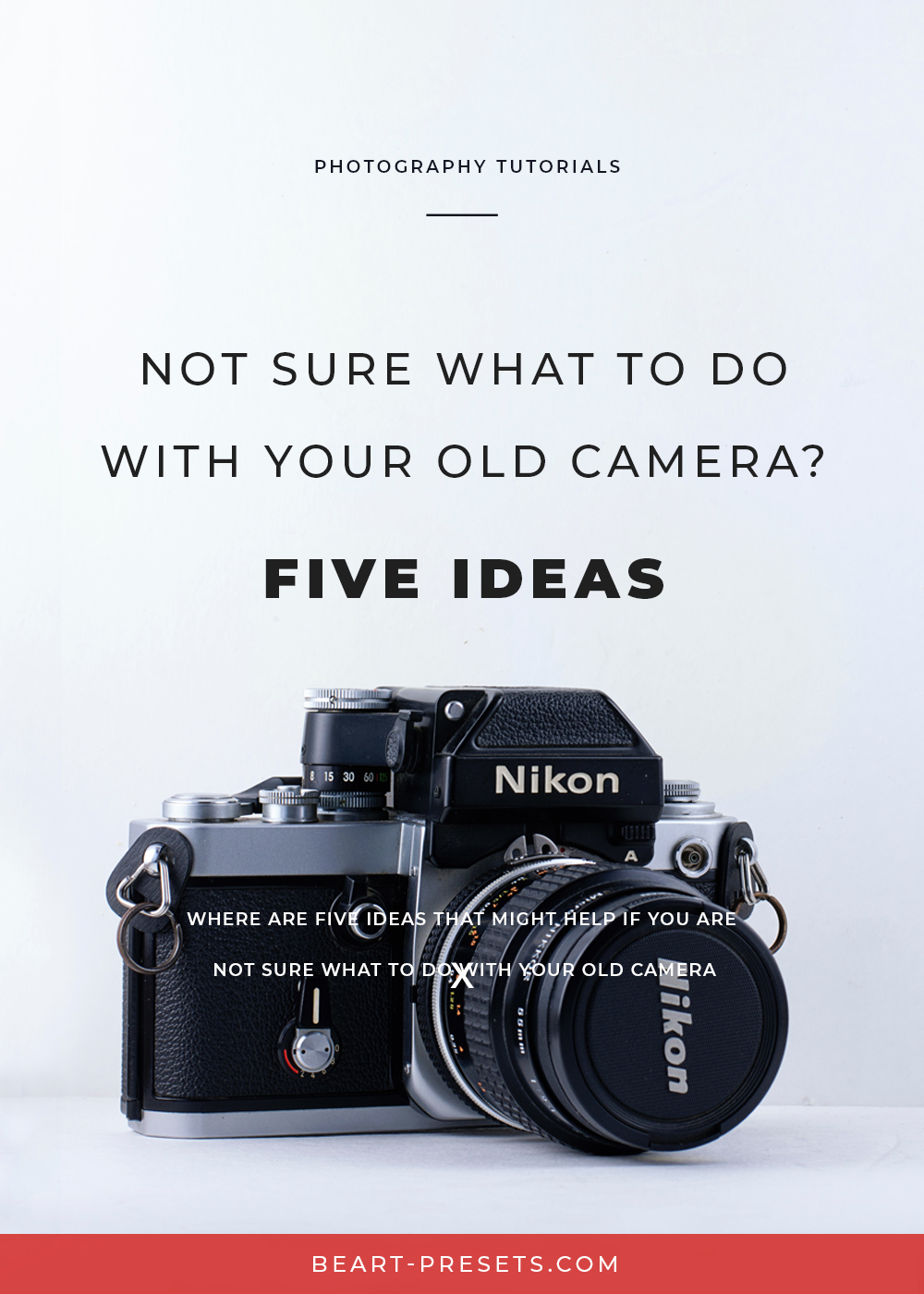 what to do with old camera