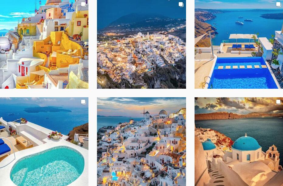 travel photo look