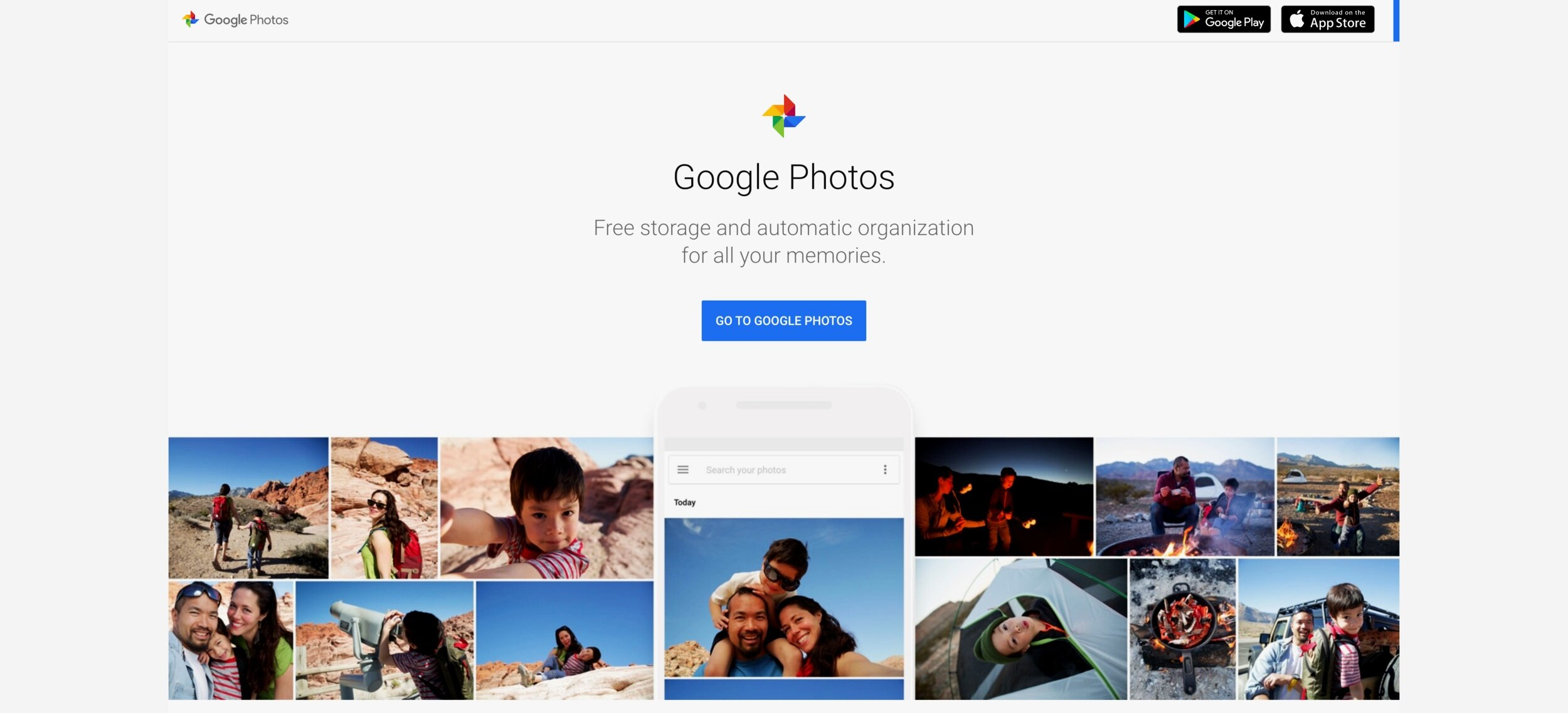 google photos for backup