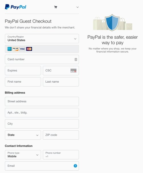 PayPal+Guest+Checkout