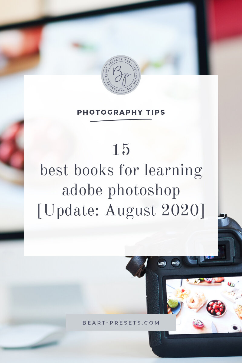 15 Best Books For Learning Adobe Photoshop Update August 2020