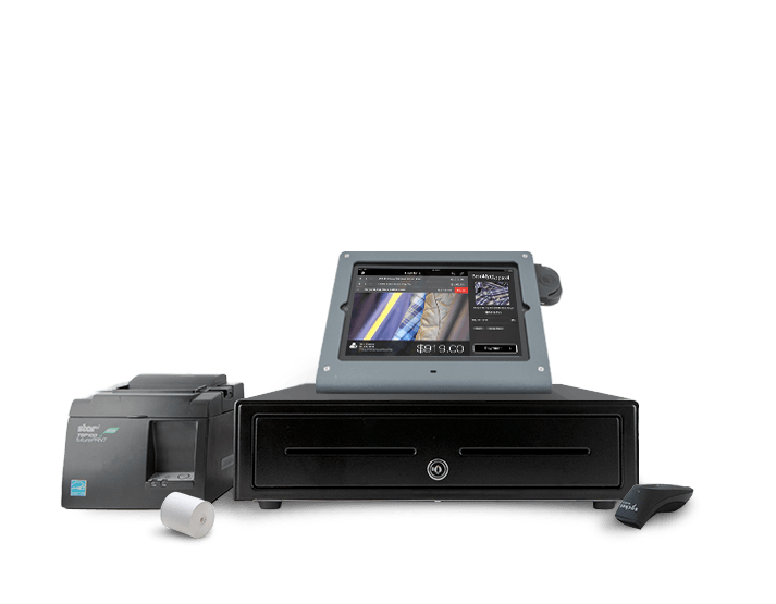 $929 -Lightspeed iPad Hardware Bundle - Windfall iPad Stand - APG Vasario Cash Drawer - Star Micronics TSP143 Network Receipt Printer - Socket 7Ci Bluetooth Barcode Scanner  - 50 Roles of Thermal Receipt  -iPad NOT included