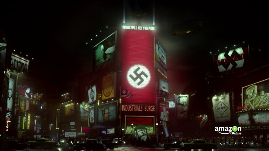 Times Square under occupation by the Nazis.