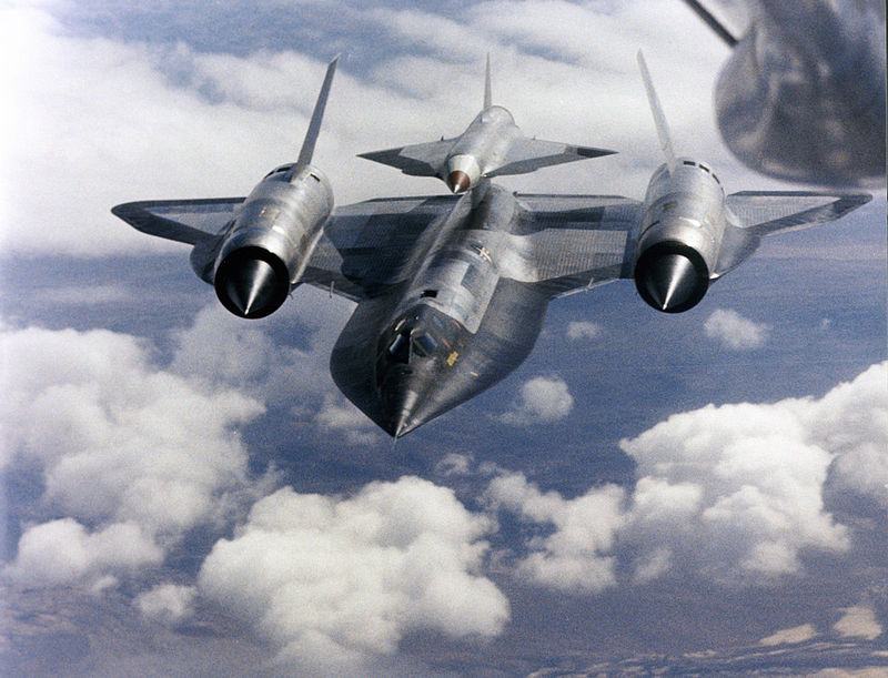 A later development of the A-12 was the M-12, which was modified to carry the M-21 drone, an early drone designed to gather photographic intelligence. Two aircraft were produced and numerous flights were made before a collision between a drone and mothership resulted in the crash of both and the death of one crewmen. The program was cancelled in 1966.