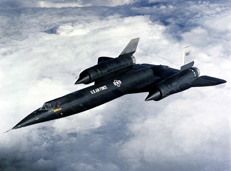 An A-12 in flight.