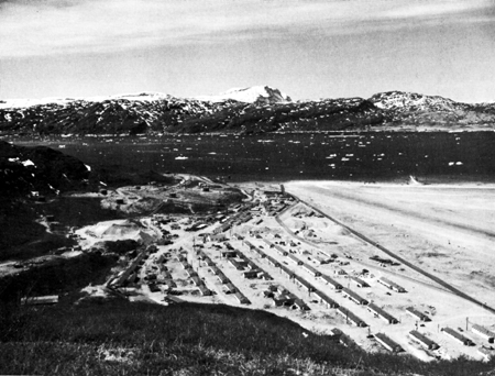 One of Greenland's USAAF bases not long after construction.