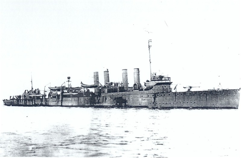 USS Clemson (DD-161), the lead ship of her class.