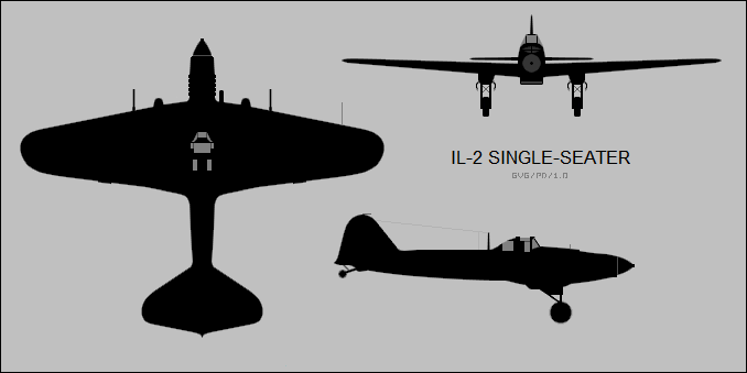 The original Il-2 was a single-seat design that had omitted the rear-gunner position in order to save weight- ultimately this would cost the lives of many pilots.