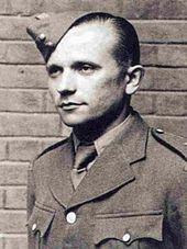 JOSEF GABCIK, PICTURED PRIOR TO JUMPING INTO OCCUPIED CZECHOSLOVAKIA.