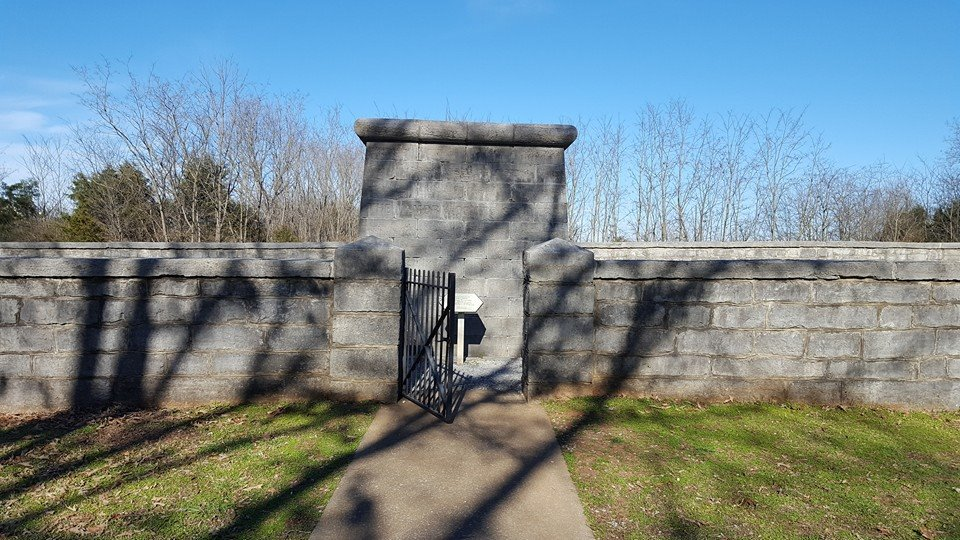 The oldest remaining Civil War monument stands at the former site of a battery of Union artillery, which was in part responsible for repelling the final Confederate attacks on the 31st.