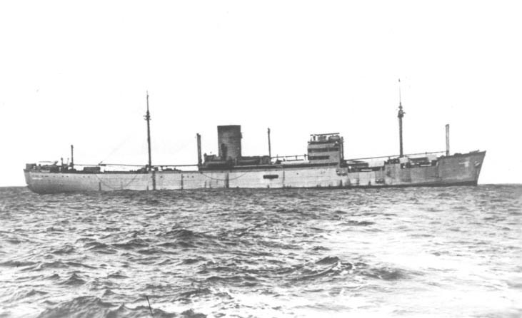 The Atlantis, one of the two most successful German raiders. After over a year and a half at sea, the Atlantis was finally sunk on November 22, 1941. Photo source: Wikipedia.