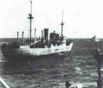 The Stier was perhaps the least successful of the German raiders, only sinking three ships during 1942 before meeting an unexpected end at the hands of a Liberty ship in September 1942. Photo source: bismarck-class.dk.