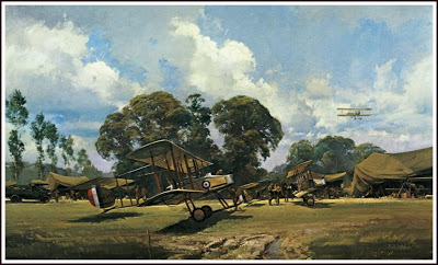 The Gunbus , painting by Frank Wooten.