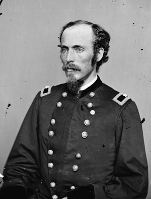 Colonel Emerson Opdycke was a headstrong brigade commander who had been born in Ohio in 1830. He fought at Shiloh, Chickamauga, Chatanooga, and in the Atlanta campaign. Opdycke's refusal to follow his division commander's orders ultimately proved a godsend- his brigade formed a reserve which plunged into the gap punched in Union lines by the Confederate assault. Photo: Wikipedia.