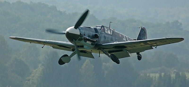 A restored Bf-109G-6. Photo source: Wikipedia.