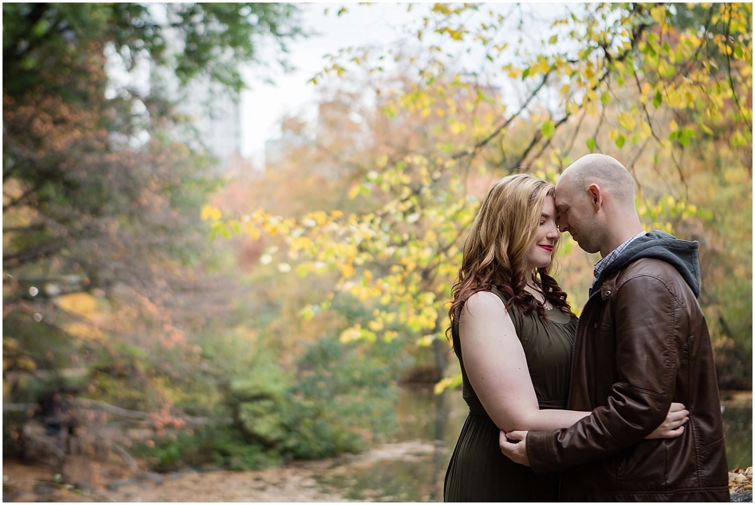 Shelley & Eric || NYC Engagement || Central Park Engagement || Amy Sims Photography || Fall Engagement