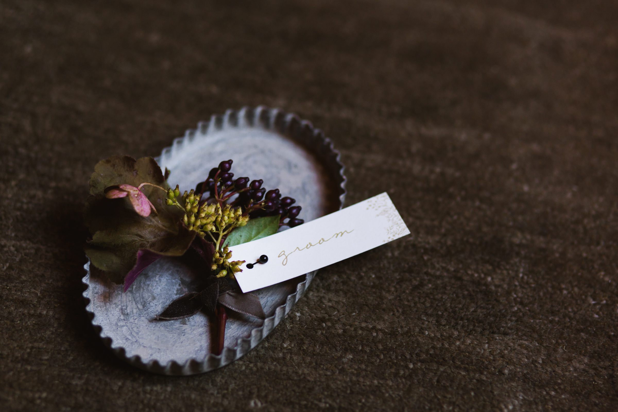 @Amy Sims Photography | New York Wedding Photography | Grooms Boutonniere