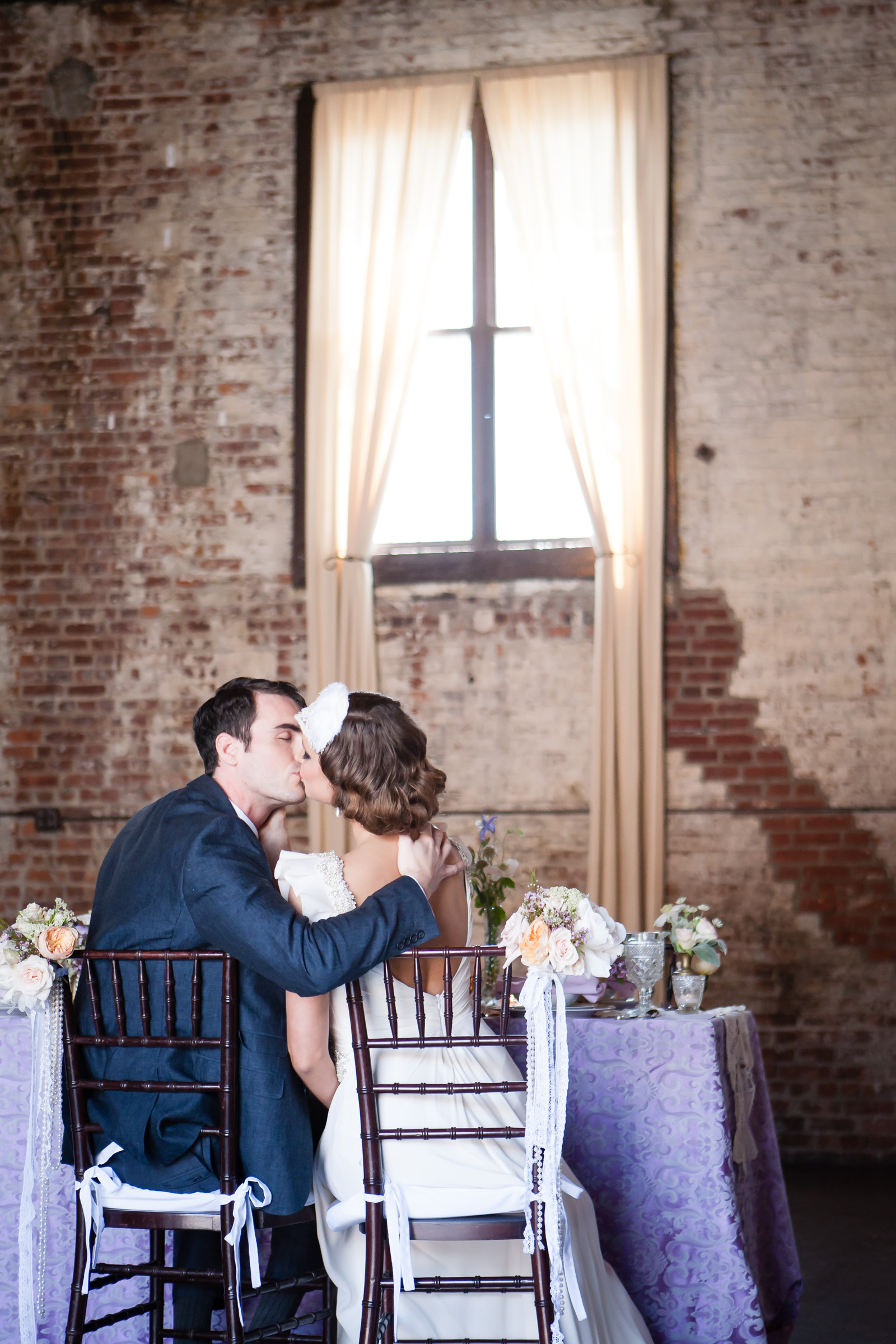 The Green Building || Brooklyn Wedding || Violet and Verde || 1920s Style Wedding