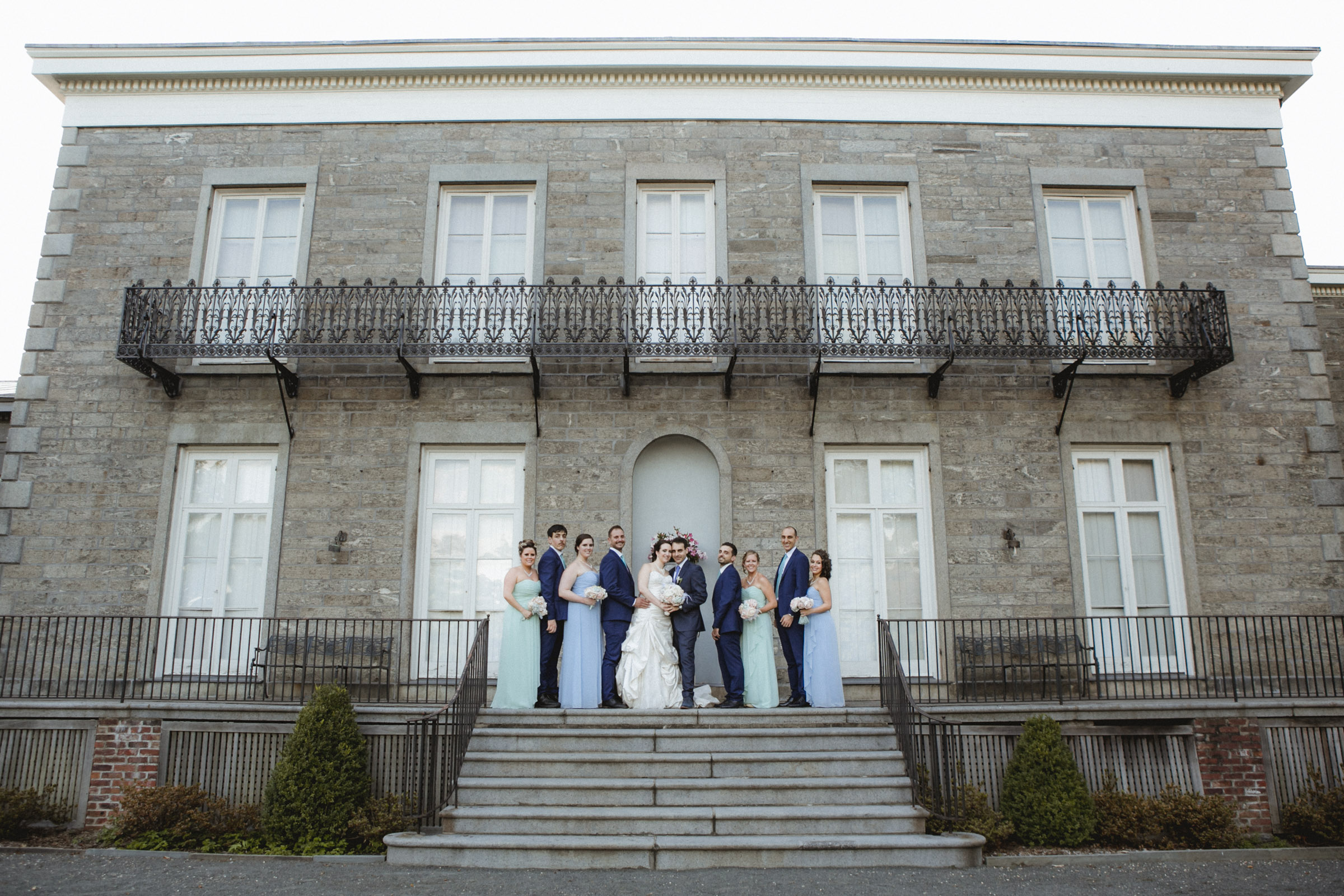 Bridal party | Bartow-Pell Mansion wedding | Manhattan wedding | Bronx Wedding | Cathy & Antonello's wedding | Amy Sims Photography