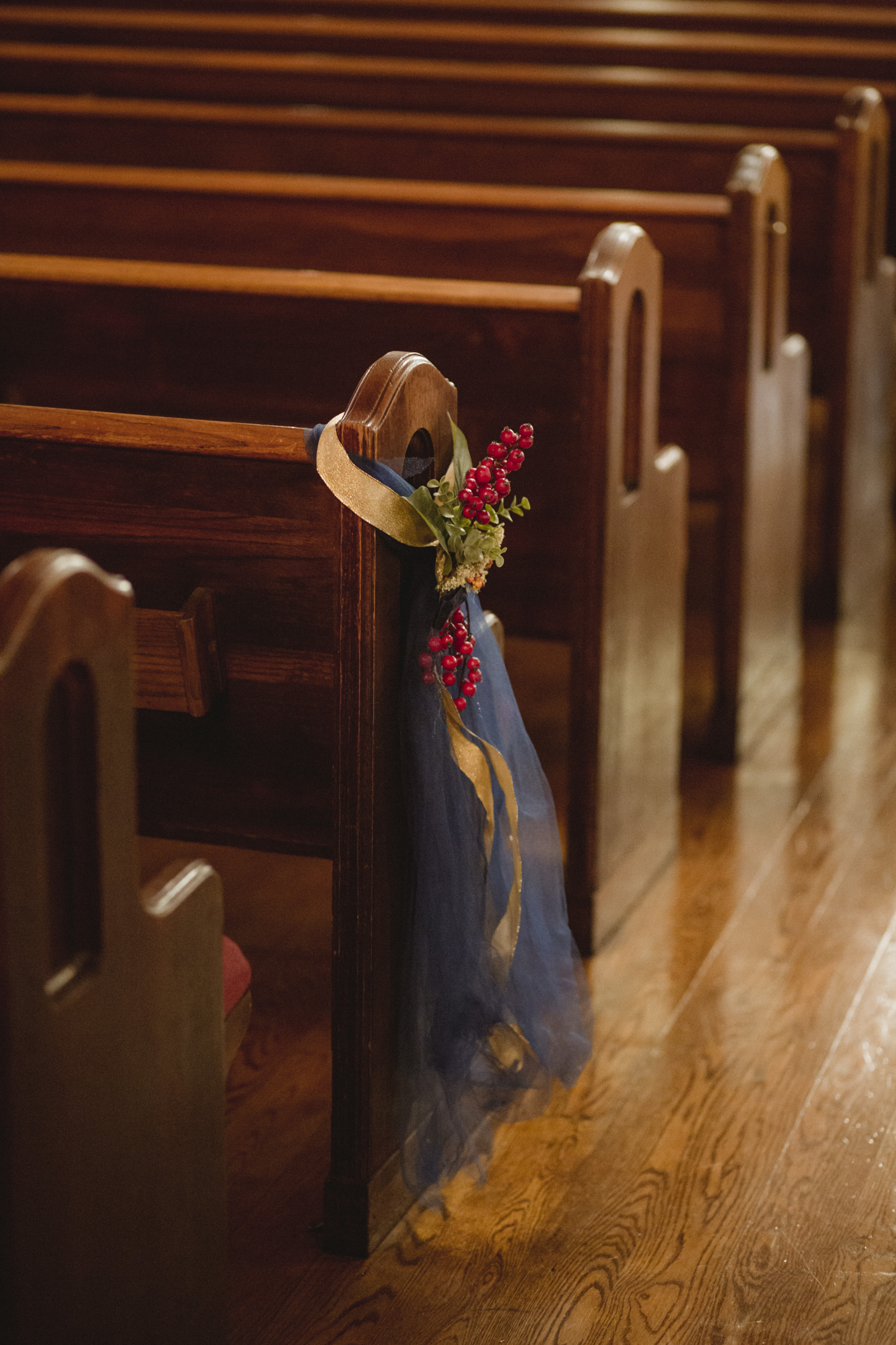 Amy Sims Photography | Aisle detail of Greater St. Stephen United Church of God | New York Wedding Photographer | Brooklyn Church Wedding