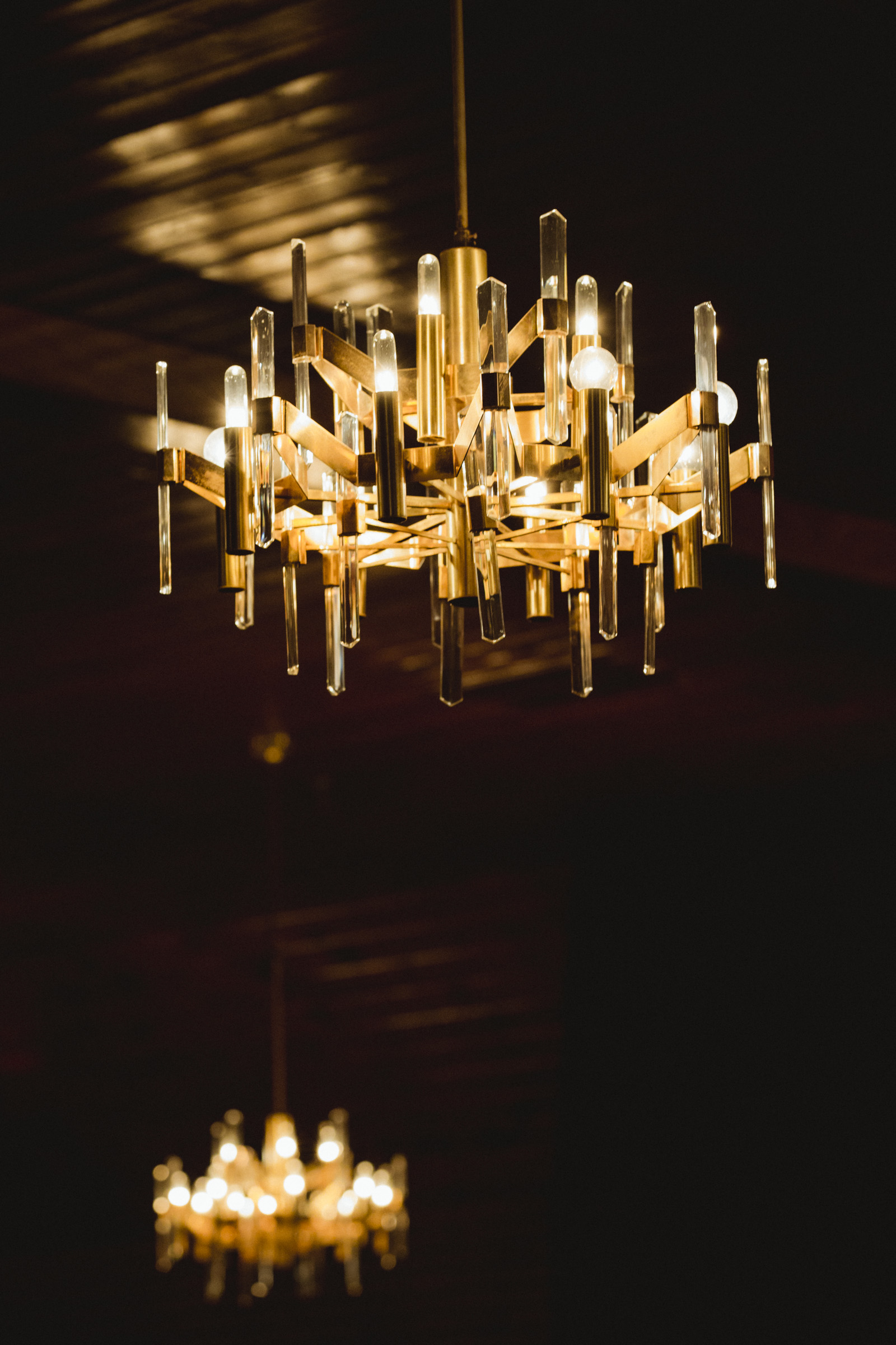 Amy Sims Photography | Chandelier detail from Greater St. Stephen United Church of God | New York Wedding Photographer | Brooklyn Church Wedding
