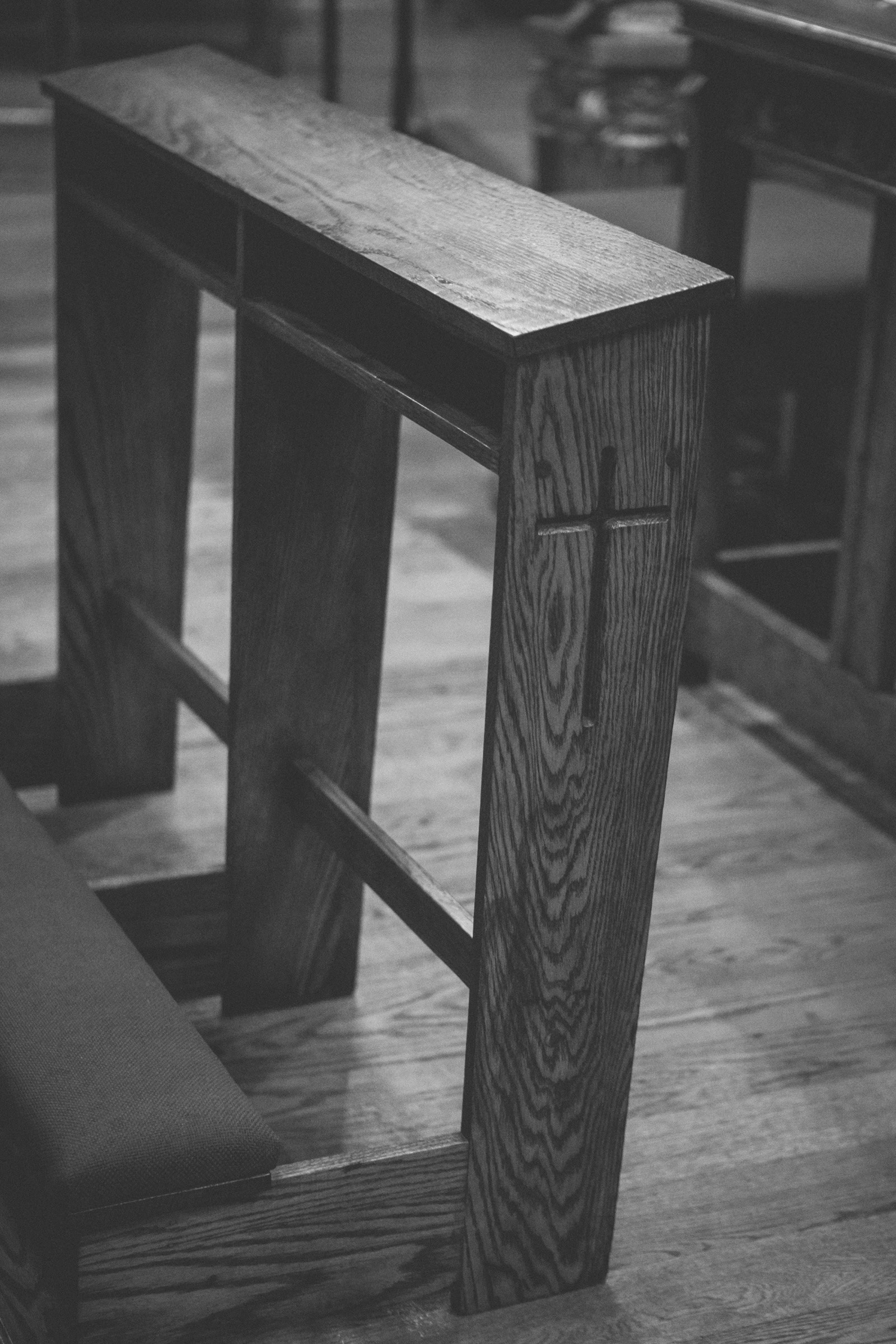 Amy Sims Photography | Church detail from Greater St. Stephen United Church of God | New York Wedding Photographer | Brooklyn Church Wedding