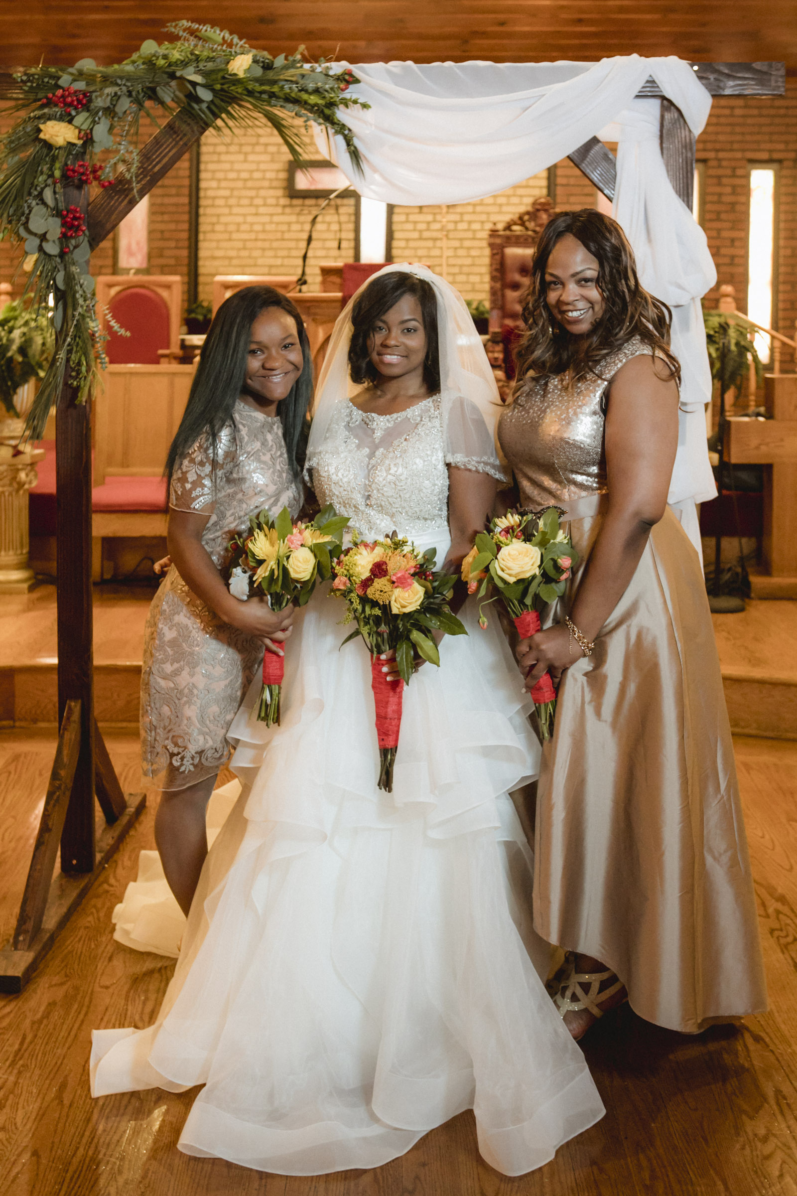 Amy Sims Photography | Greater St. Stephen United Church of God | New York Wedding Photographer | Brooklyn Church Wedding | Brooklyn Wedding