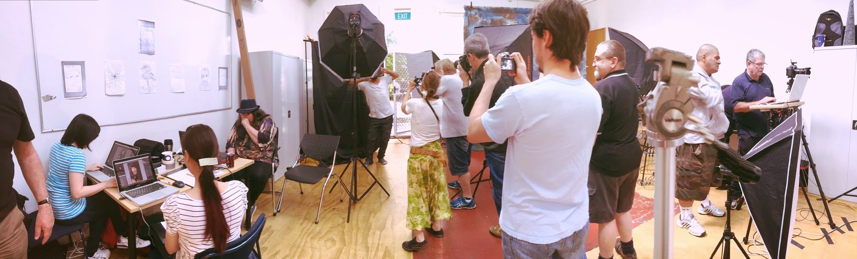 HELP Portrait - Crew at work