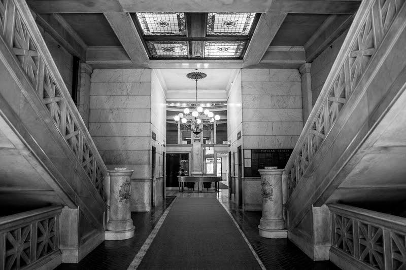 hellman lobby bw.jpg
