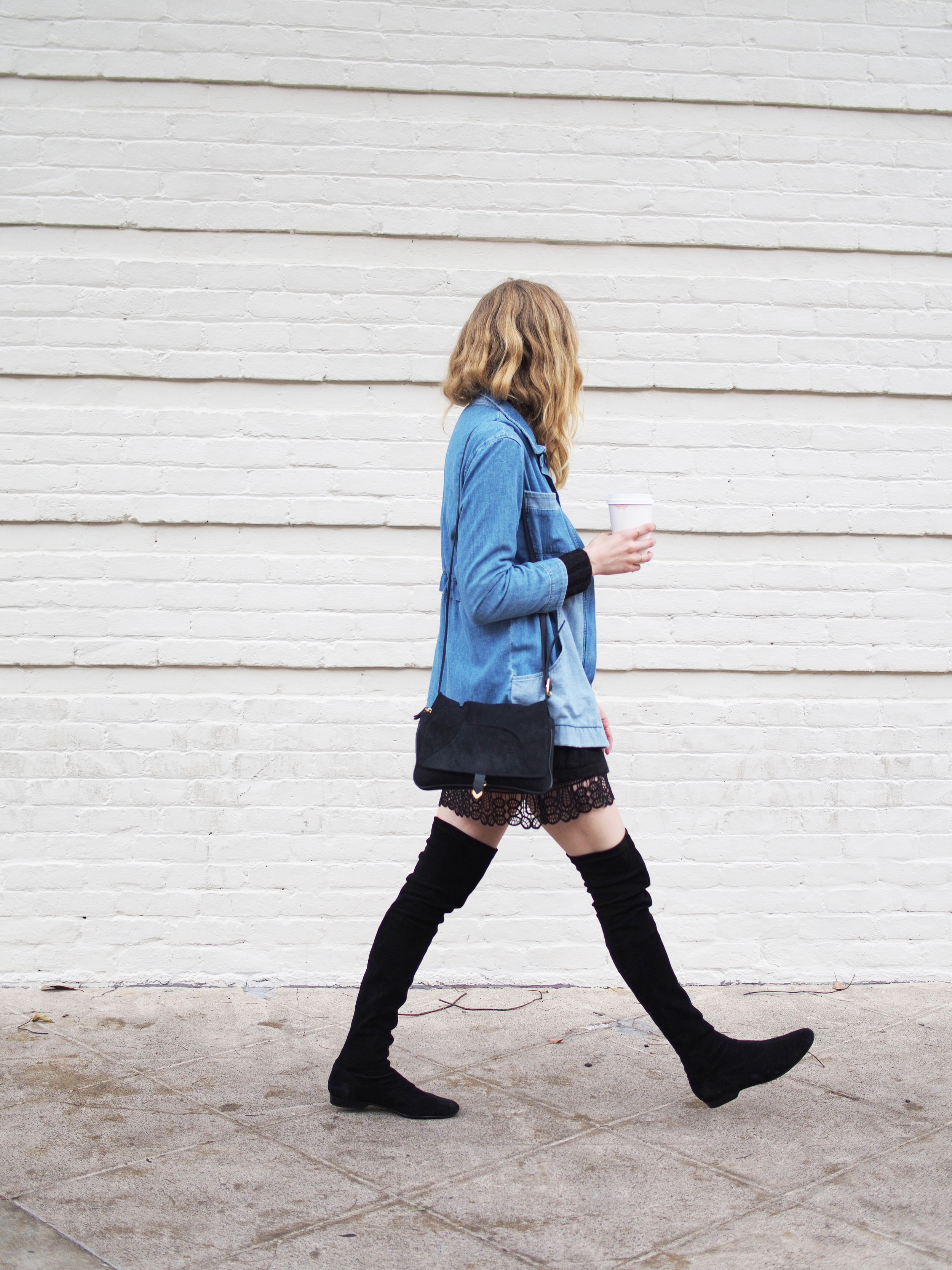 M.i.h Jeans Cult Denim Project x Street Style Look Taylr Anne