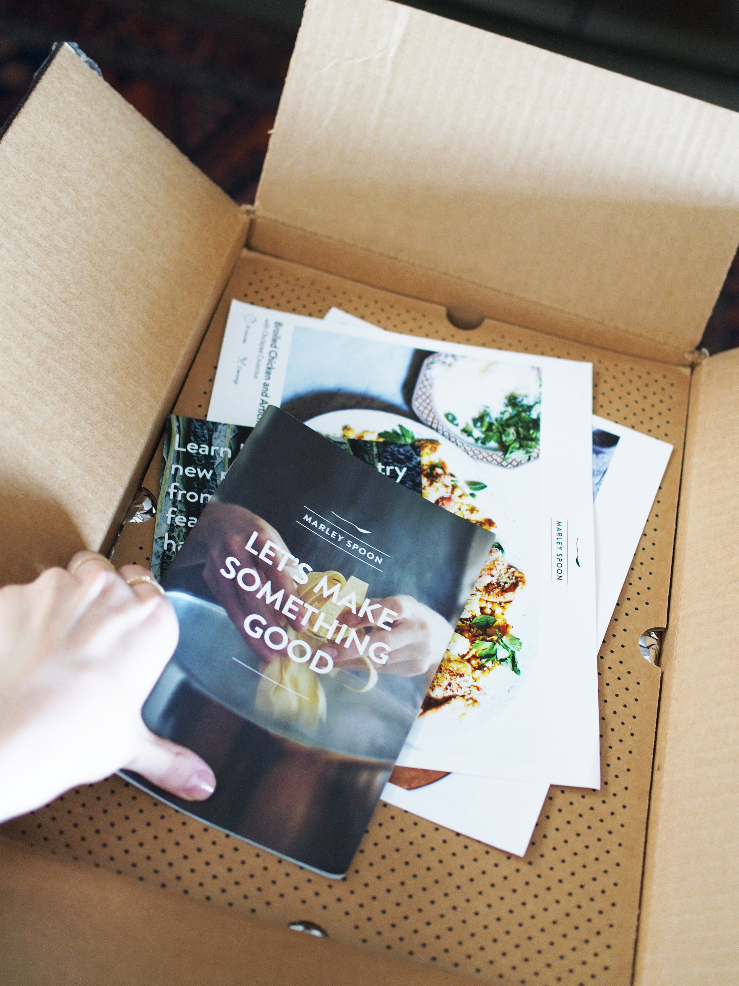 Cooking with Marley Spoon At Door Delivery Fresh Ingredients My Experience with Marley Spoon Taylr Anne www.taylranne.com