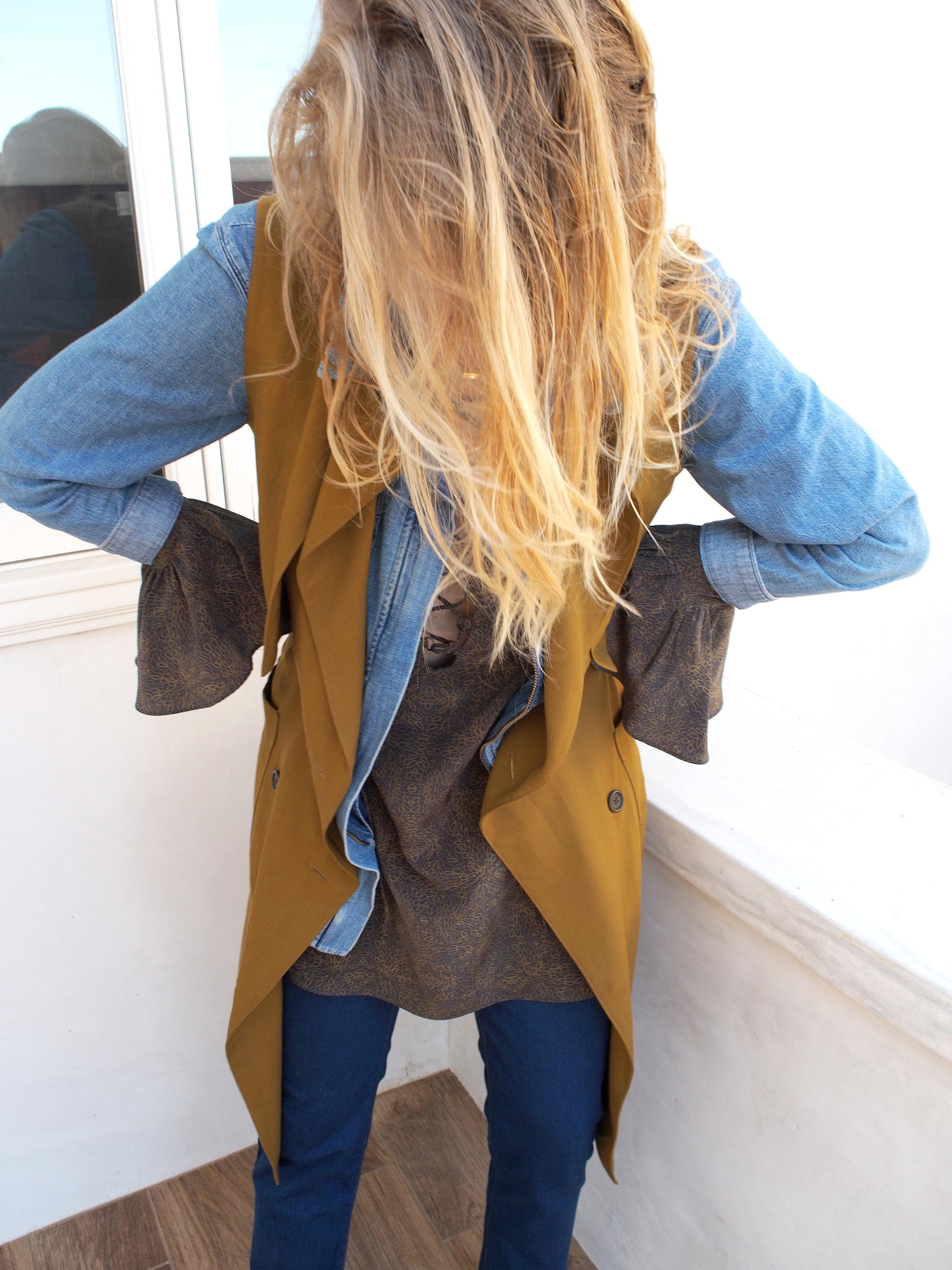 W Concept Denim Story Front Row x Happening Retro Blue Jean M.i.h. Jeans Painter's Parka Waltz Studio Vest ATP Cate Heels x Taylr Anne www.taylranne.com