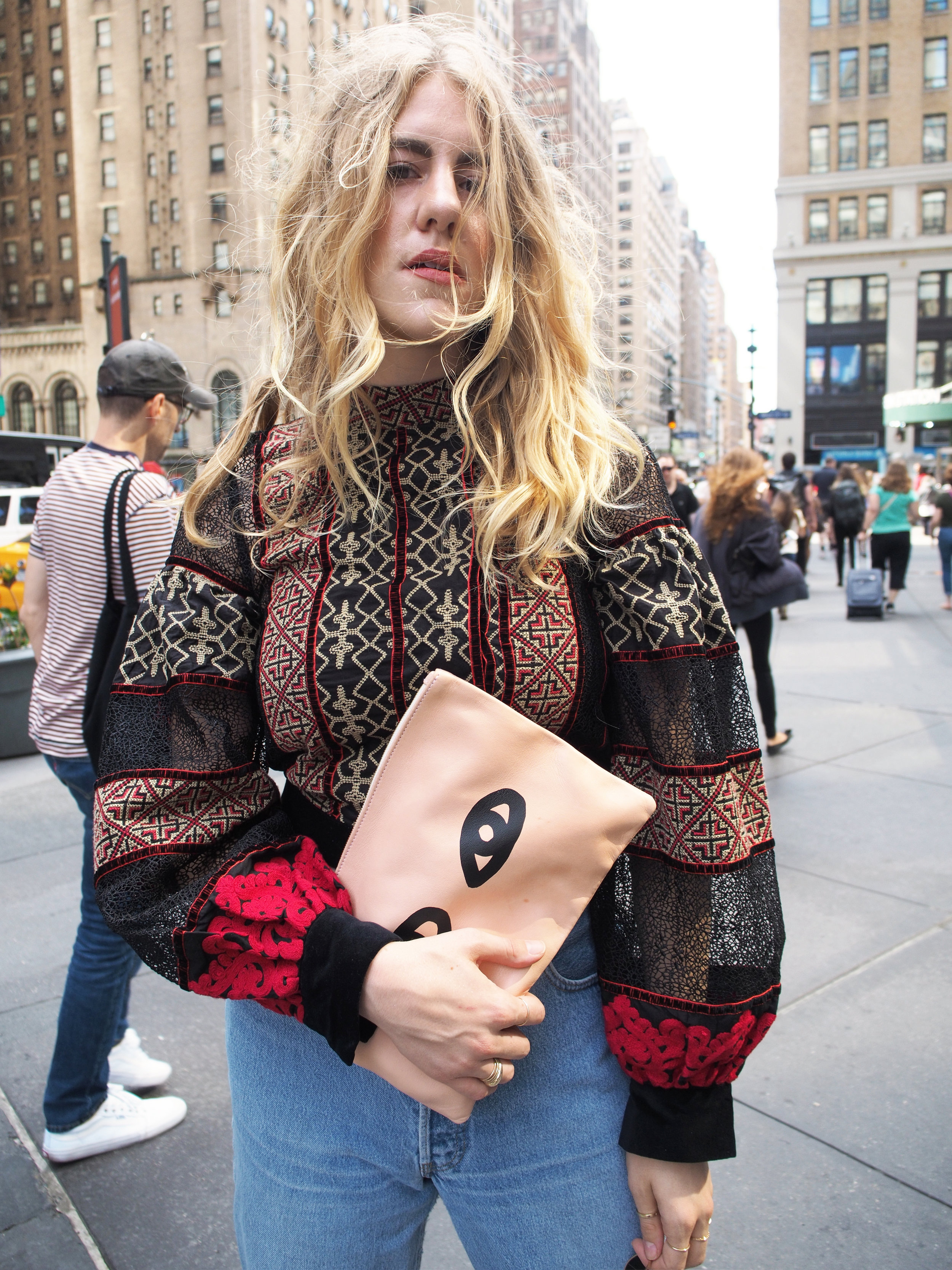 NYFW New York Fashion Week Day One Recap OOTD Backstage Taylr Anne www.taylranne.com