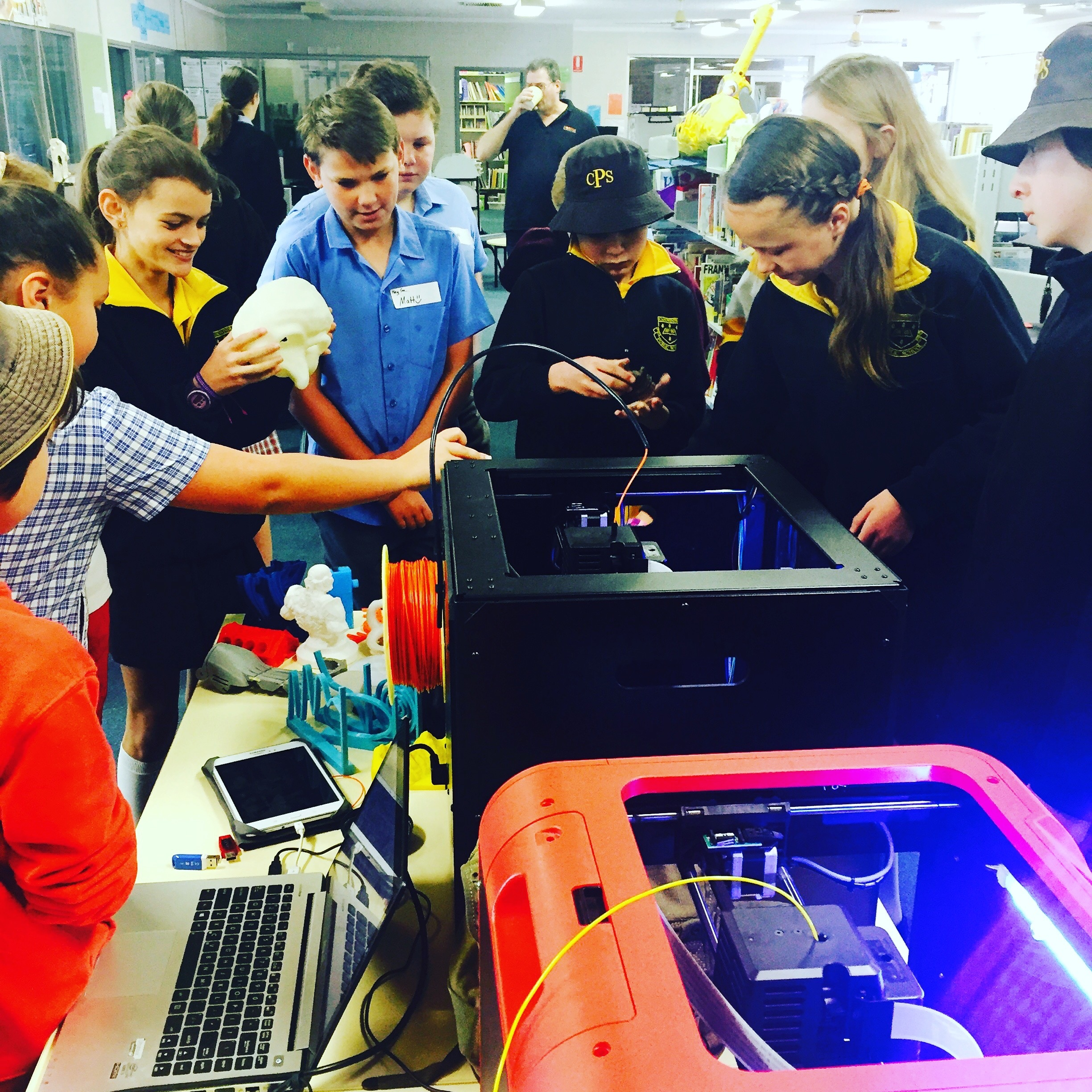 MODFAB - 3D printing workshops for schools in Cowra + Canowindra 2016