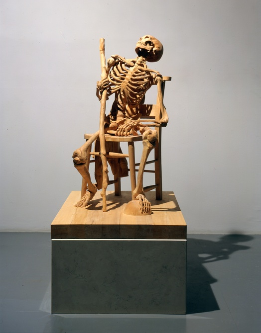 Ricky Swallow, b.1974, Australia,  The exact dimensions of staying behind , 2004-05, laminated lime wood, Art Gallery of South Australia, courtesy of the artist and Darren Knight Gallery, Sydney