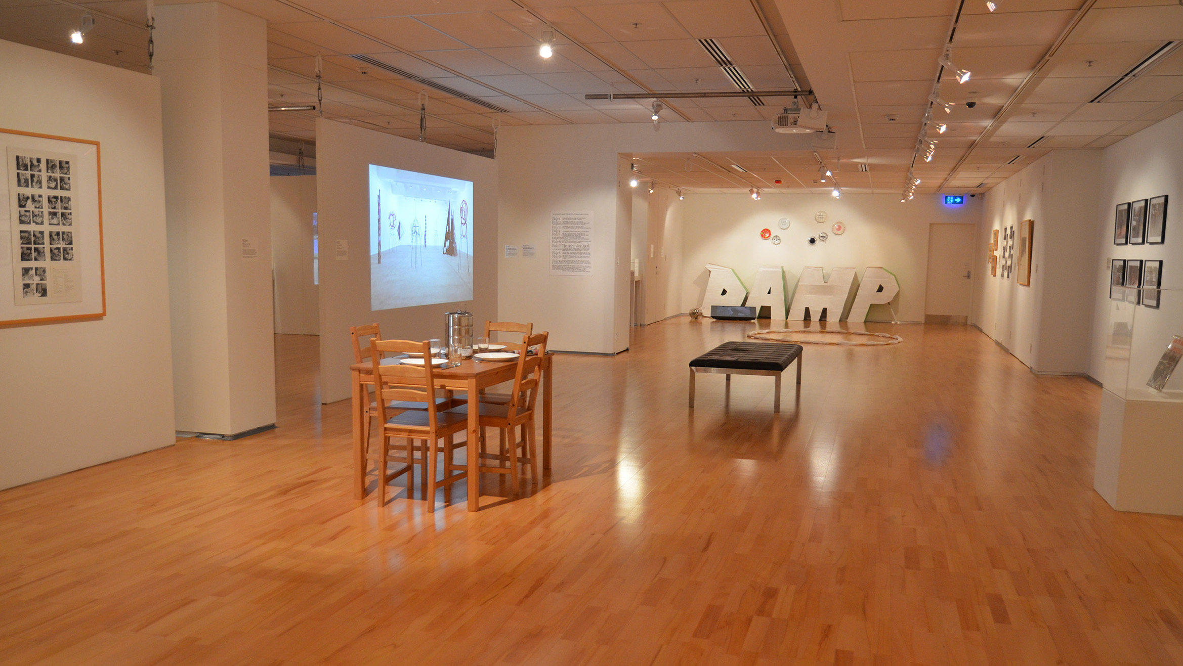 Art as a Verb,  2015, installation view, Flinders University City Gallery, courtesy of the Flinders University Art Museum, Adelaide