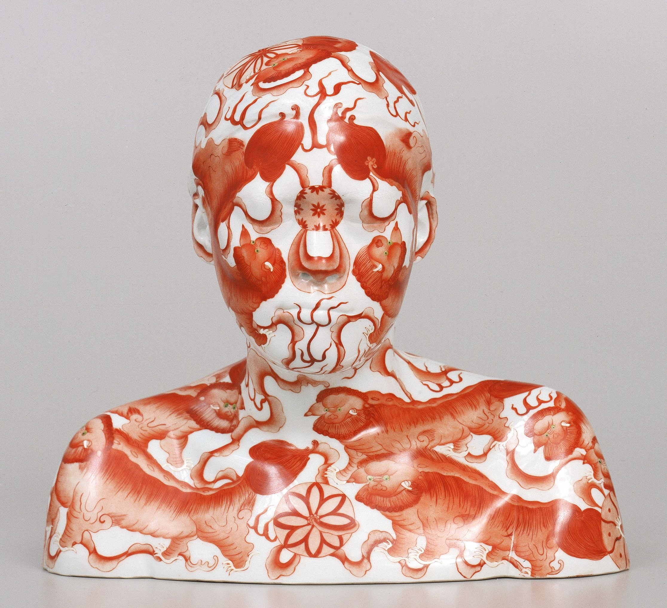 Ah Xian,  China, China – bust 11 , 1999, porcelain. Courtesy of the artist