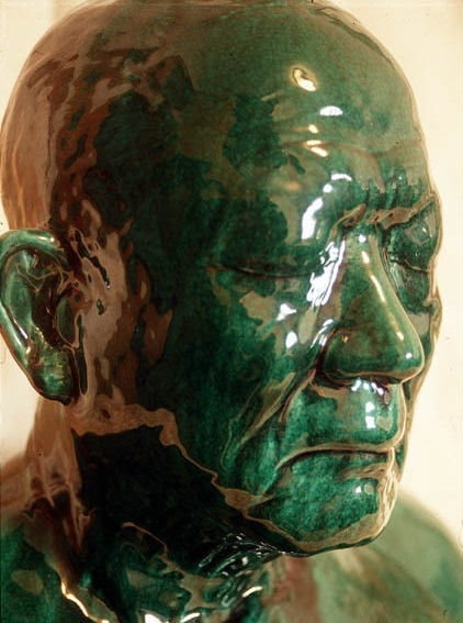 Ah Xian,  China, China – bust 20 , 1999, porcelain. Courtesy of the artist.
