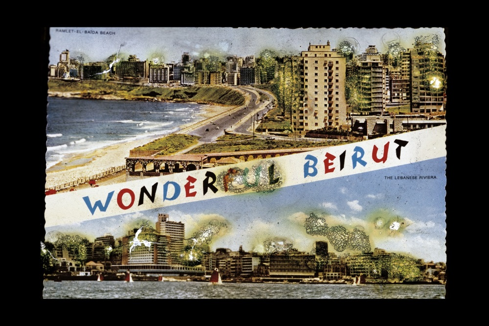 Joana Hadjithomas and Khalil Joreige,  The Story of a Pyromaniac Photographer , 'Wonder Beirut' Project (Part 1), 1997–2006. Diasec # 1, photographic print with face mounting, 105 x 70 cm. Courtesy the artists and The Third Line, Dubai.