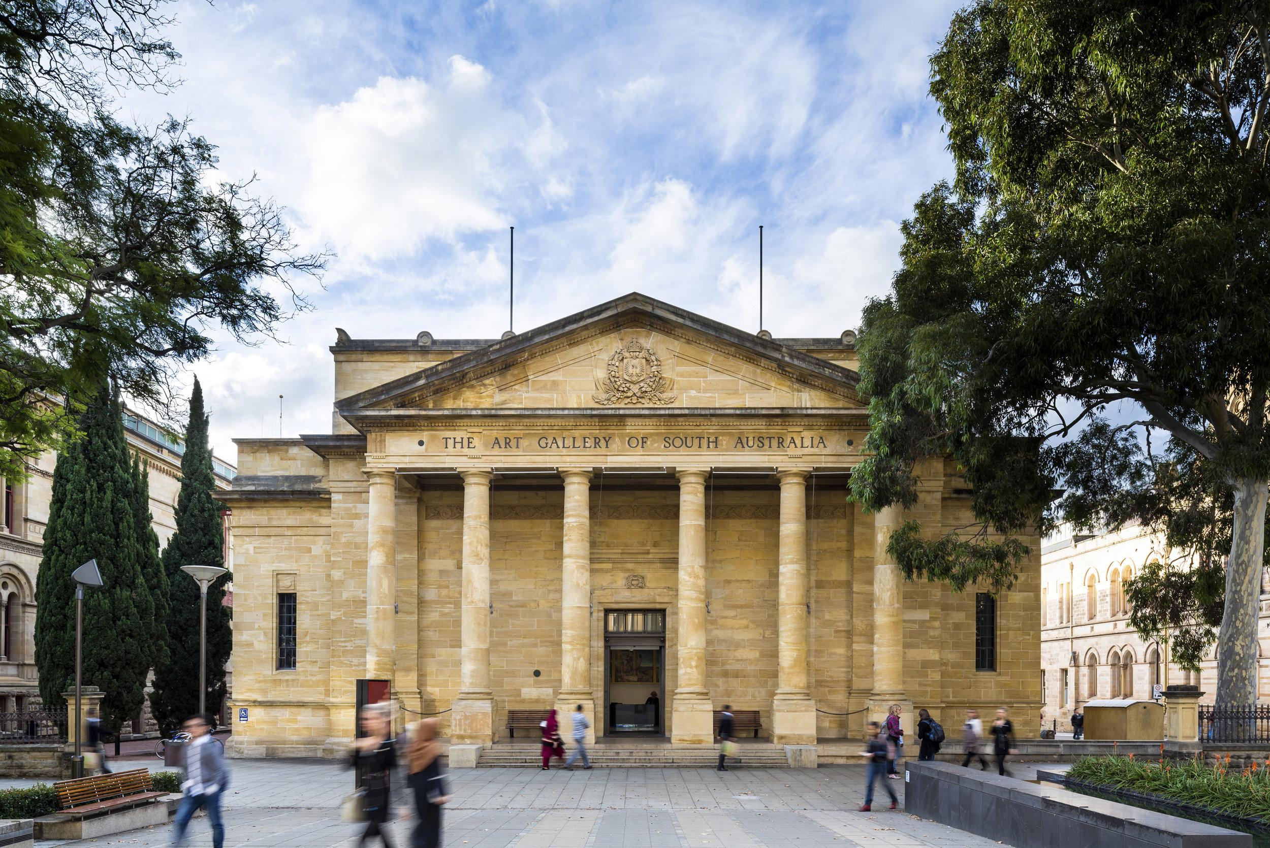 Art Gallery of South Australia, Adelaide. Photo: Sam Noonan.