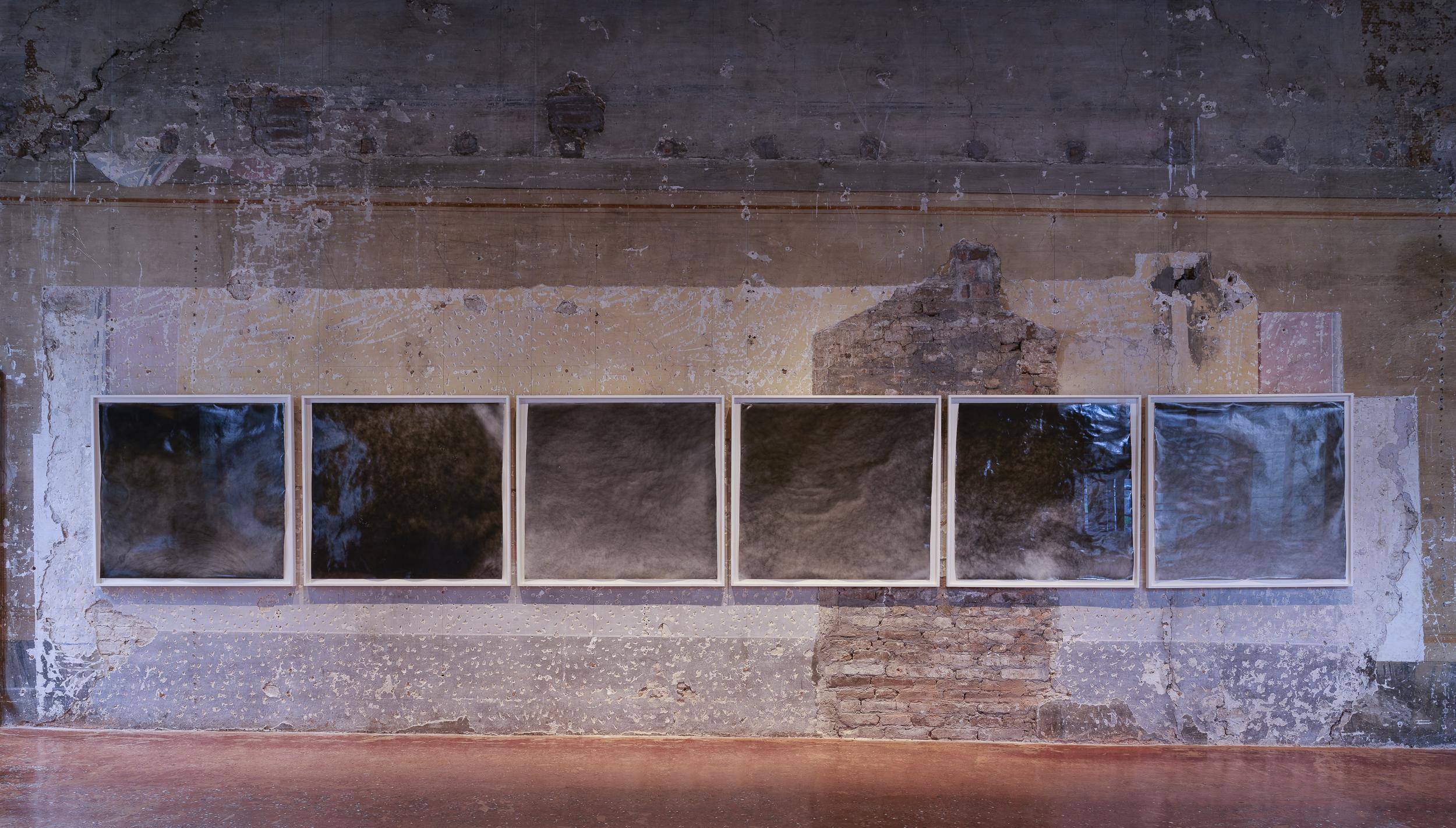 Renato Leotta,  Tempo (Memoria e Materia) , 2017. Installation view at  Intuition , Palazzo Fortuny, Venice. Photo © Jean-Pierre Gabriel