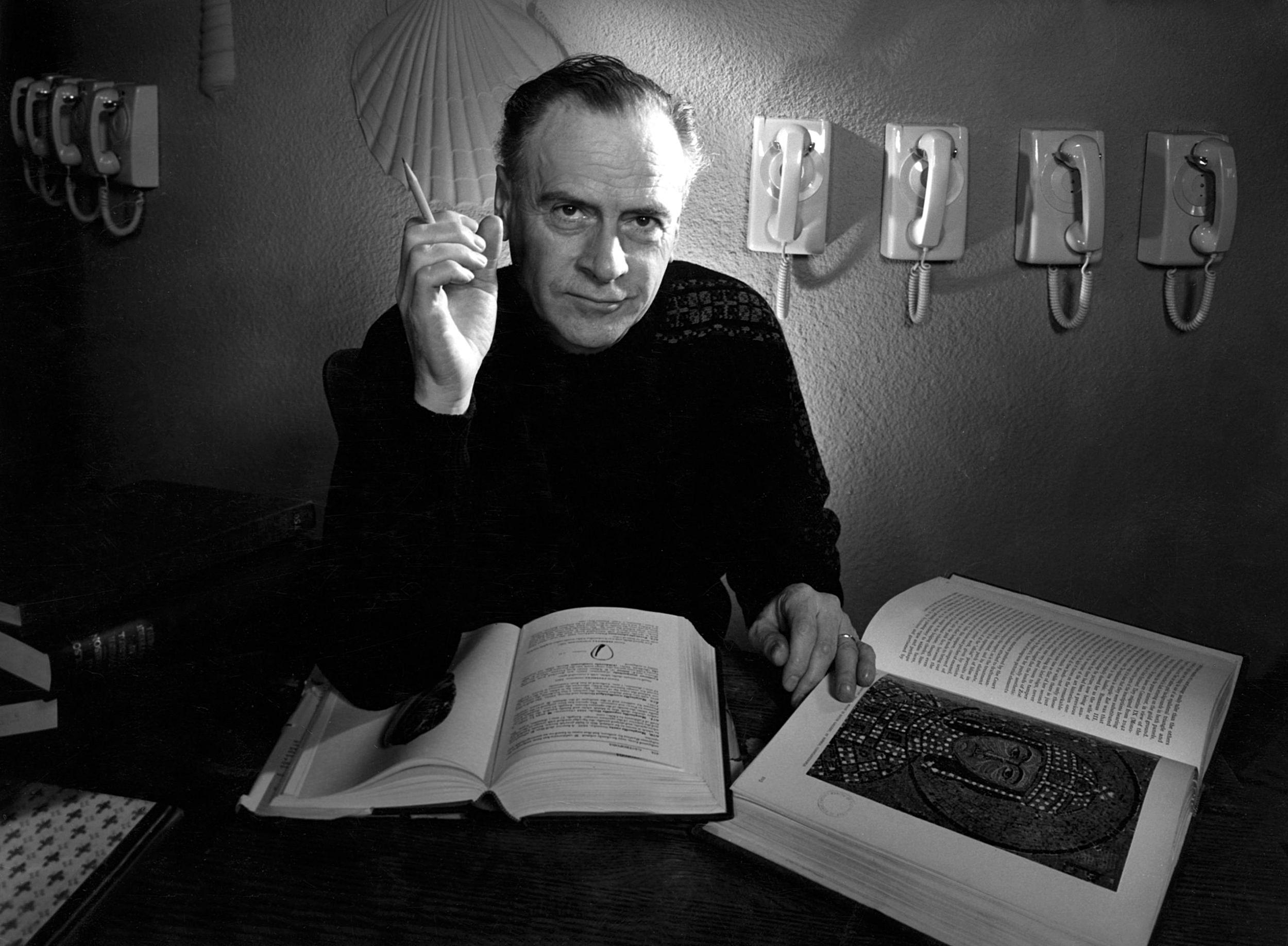 Marshall McLuhan by Yousuf Karsh, 1967